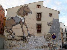 Erica il Cane graffiti, Valencia