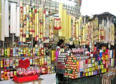 Oaxaca candles