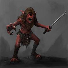 Bakemono Cyclops goblin-1 by Seraph777.deviantart.com on @DeviantArt