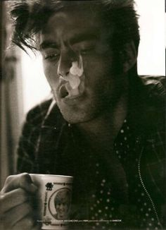dear lord.   Jon Kortajarena    Hi cute boy smoking is bad for you and i don't support it, but i do support that princess di mug you have and for that will you please take some time to consider dating and/or marrying me. i vow to pet your luscious hair hourly. thanks!