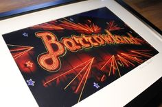 BARROWLANDS GLASGOW framed £45.00