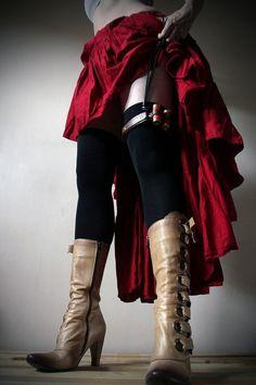 shes got firepower under that skirt! DieselSteamGypsy