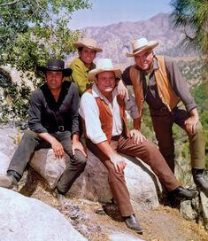 "The Cartwrights...""Bonanza."" I do not care what anyone says. This is one of the all time greats."