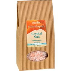 "Himalayan Crystal Salt Coarse - 18 Oz -  - Cooking, Foods & Beverages - Himalayan   For Salt Mills  Coarse  The Best Salt on Earth Bio-energetically ""alive,"" this 100% pure Himalayan Crystal Salt contains the same key trace minerals as our bodies, so it is easily metabolized.  Hammer-crushed and Additive Free."