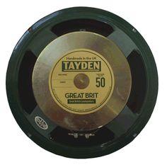 """Tayden GREAT BRIT 12"""" Guitar Speaker 8ohm"""