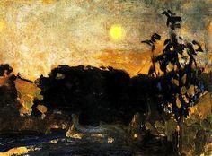 "Jan Stanislawski ""Evening"", c. 1903"