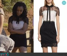 Tv Show Outfits, Suede Moto Jacket, Swimwear Sale, Panel Dress, Fashion Tv, Other Outfits, Classy Dress, 13 Reasons, White Lace