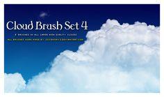 Cloud Brush Set 4 by s3vendays.deviantart.com on @DeviantArt