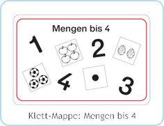 Klett-Mappe: Mengen bis 4