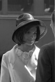 Max Scheler  Jaqueline Kennedy, Washington, USA  1963