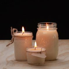 DIY Soy Candles From Scratch #candles #simple #DIY
