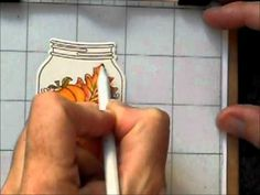 Reminder of how to use colored pencils and mineral oil together.