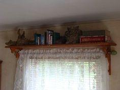 Above Window Shelves Bracket Board  Shelf Above Window  Diy Bathroomtoilet .