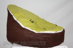 Amazon.com: Baby Bean Bag Chair for Babies and Toddlers - Lime Green and Brown: Baby Toddler Bean Bag Chair, Bean Chair, Kick Backs, Therapy Ideas, Green And Brown, Toddlers, Sunglasses Case, Lime, Cozy