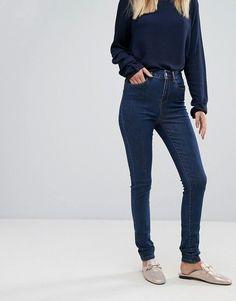 Vero moda skinny jeans in supersoft denim