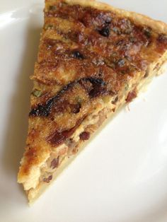 Caramelized Onion and Pancetta Quiche - Cupcakes