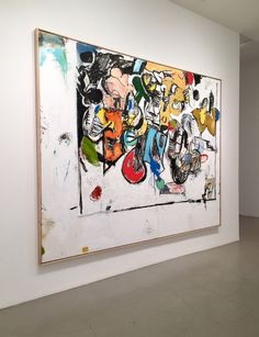 Eddie Martinez, Modern Art, Contemporary Art, Painting Workshop, Art Techniques, Abstract Expressionism, Painting Inspiration, American Art, Sculpture Art