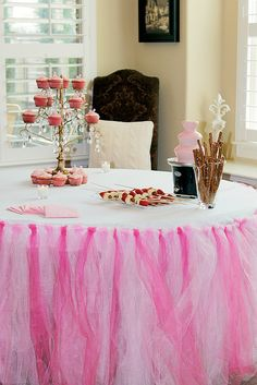 Baby Shower, Tutu Table Cloth by D Steez, via Flickr