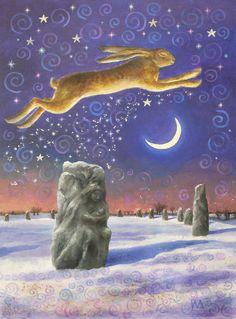Winter Solstice Magick © Wendy Andrew 2008