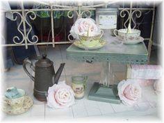 Tea Party Window