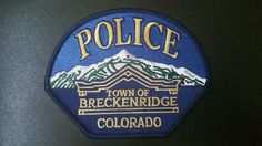 Breckenridge Police Patch, Summit County, Colorado (Current Issue)