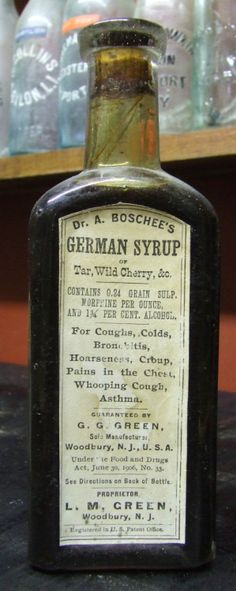 """magicksquares: """"Dr. A. Boschee's German Syrup manufactured in Woodbury, New…"""