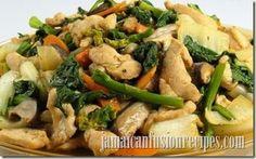 August 29 is Chop Suey Day: Jamaican-Chinese chop suey recipe Chop Suey, Fusion Food, Jamie Oliver Stir Fry, Oil Less Fryer, Healthy Recepies, Chicken Stir Fry, Jamaican Recipes, Nutrition, Chicken And Vegetables