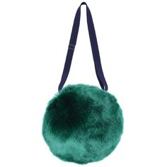 Plush pom pom bag made with super soft faux fur. - Fully lined - Featuring adjustable straps making this item suitable for ages 2 to 12 years - Outer: 70% Acrylic, 18% Modacrylic, 12% Polyester - Lini