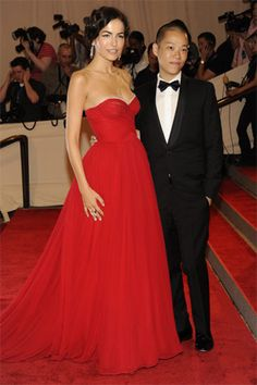 Camilla in Jason Wu and as his date for the MET Gala