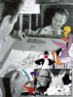 """Charles Martin """"Chuck"""" Jones (Sept. 21, 1912 – Feb. 22, 2002) was an American animator, cartoon artist, screenwriter, producer, and director of animated films, most memorably of the Looney Tunes & Merrie Melodies shorts for the Warner Bros. He directed many of the classic short animated cartoons starring Bugs Bunny, Daffy Duck, the Road Runner & Wile E. Coyote, Sylvester, Pepé Le Pew, and a slew of other Warner characters. In 1962, he started his own company producing memorable cartoons for…"""