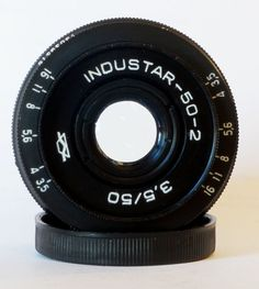 Industar-50-2 50mm 3.5 Pancake Camera Lens M42 Mount i-50-2 #Industar