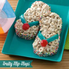 I'm goin try with rice crispy treats