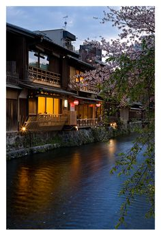 The river where young Chiyo spent time dreaming in Memoirs of a Geisha?  Kyoto, Japan.