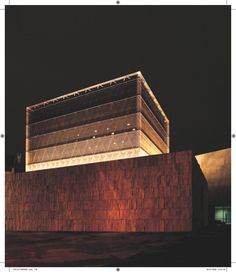 Architecture Library: The Jewish Synagogue in Munich, Munich, Germany.