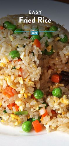 Fried rice is a great way to use up leftovers, but there's no reason you can't use a batch of freshly cooked white rice instead. This recipe produces vegetable-studded fried rice with individual grains, lightly seasoned to allow the flavor of the rice to shine. #FriedRice #EasyRecipes #InternationalFlavors #SeriousEats Rice Recipes, Vegetarian Recipes, Cooking Recipes, Healthy Recipes, Recipies, Cod Recipes, Broccoli Recipes, Sausage Recipes, Salmon Recipes
