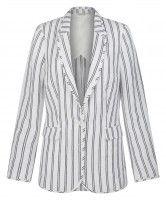 Monsoon George Stripe Blazer, to download this press image visit prshots.com/press #fashion #trend #style #fashionblog #women #fblogger