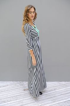 Maxi's for fall: we have a 3/4 sleeve  With every maxi they are long, not form fitting and beautiful.