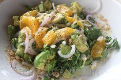 Avocado-Hazelnut Salad