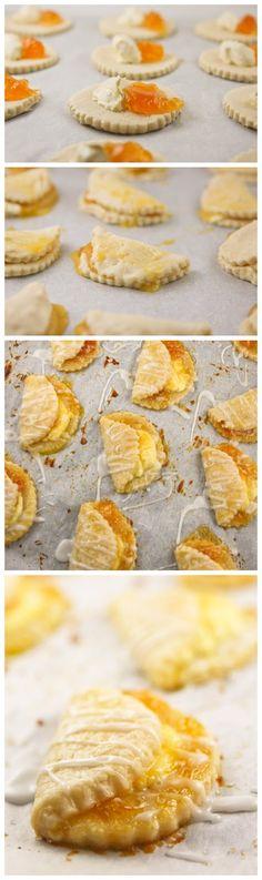 Apricot Cheesecake Pockets - Recipe Favorite