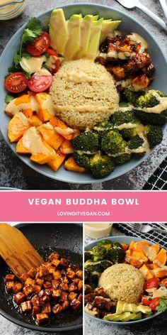 Vegan Meal Prep, Vegan Dinner Recipes, Veggie Recipes, Whole Food Recipes, Vegetarian Recipes, Healthy Recipes, Cooking Recipes, Vegan Dishes, Going Vegan