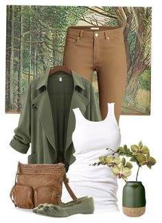 """""""Fall Colors"""" by be-ori ❤ liked on Polyvore featuring H&M, Soaked in Luxury, Sonoma life + style, Rocket Dog and Bloomingville"""