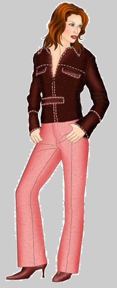 preview - #5346 Jacket with yoke