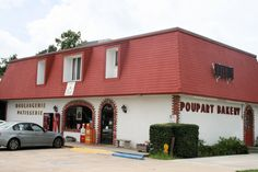 Poupart's Bakery, Lafayette, Louisiana - unbelievable pastries...if you are not from Lafayette and happen to find yourself here you HAVE to visit!!
