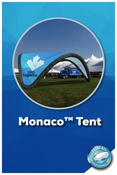 Crafted from 600 Denier Coated Polyester, the fully customizable & elegant Monaco™ Tent features a unique tri-arch design that simply cannot go unnoticed!