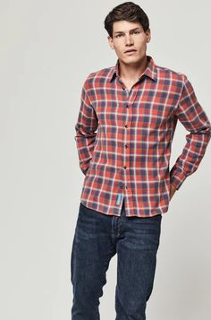 Oban Check Brushed Cotton Shirt