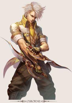 MMO Game Character design Osborne by *yuchenghong on deviantART