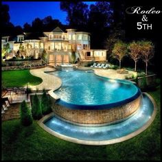 So stunning!!! #rodeoand5th #luxury #homes #design #decor #view #architecture #pool