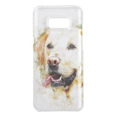 #Artistic Puppy Illustration Get Uncommon Samsung Galaxy S8 Plus Case - #labrador #retriever #puppy #labradors #dog #dogs #pet #pets