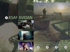 Assaf Avidan /t/ Card - Created on Tactilize