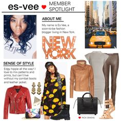 How To Wear Member Spotlight Es-vee Outfit Idea 2017 - Fashion Trends Ready To Wear For Plus Size, Curvy Women Over 20, 30, 40, 50